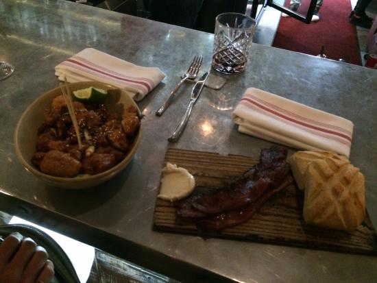 Bacon, bread and butter - Picture of Orchard City Kitchen, Campbell ...