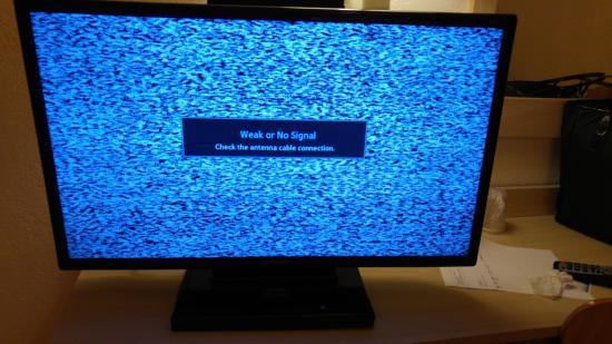 Motel 6 New Haven - Branford: TV not working