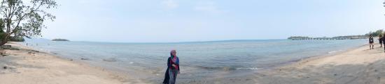 Lampung, อินโดนีเซีย: Pinggir pantai
