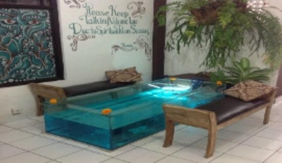 Ubud Exclusive Spa: Ubud Exclusive Fish Spa