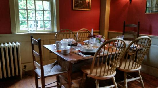 The Daniel Rust House: Our visit from October 2015