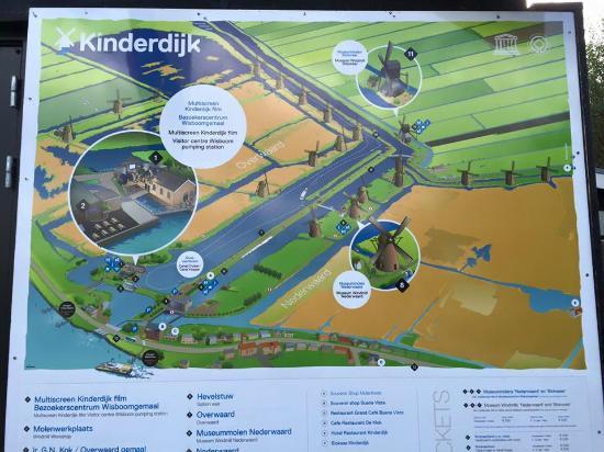 Map - Bild von Boottocht Rotterdam - Kinderdijk, Rotterdam - TripAdvisor
