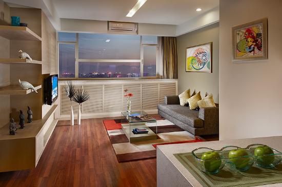 Citadines Gaoxin Xi'an: 1BR Exec Living Room