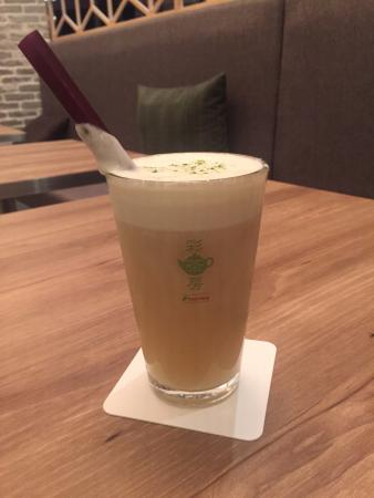 彩茶房 CASCADE HARAJUKU店, 岩塩チーズティー
