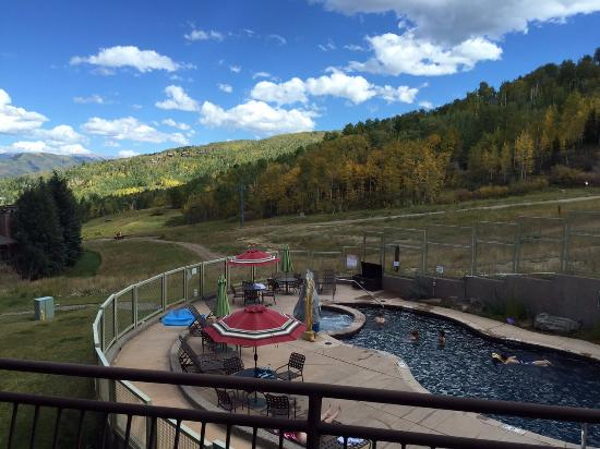 The Timberline Condominiums: The View from our porch
