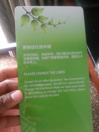 Guan County, China: Dong fang hotel Guanzhou.