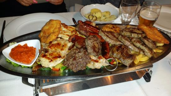 Boban: Mixed grill platter