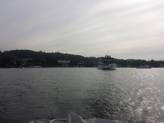 Oakbank House: Lake Windermere by boat
