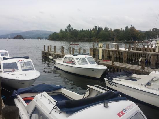 Oakbank House: Our little Windermere boat