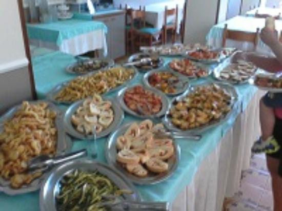 Hotel Europa: buffet pranzo