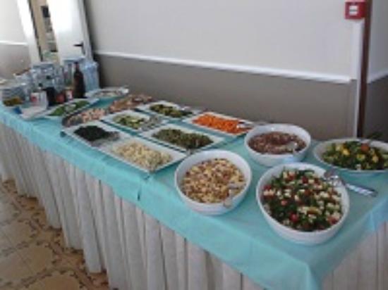 Hotel Europa: buffet cena