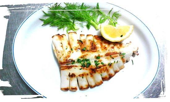Donatella Ristorante Pizzeria: Calamari alla griglia