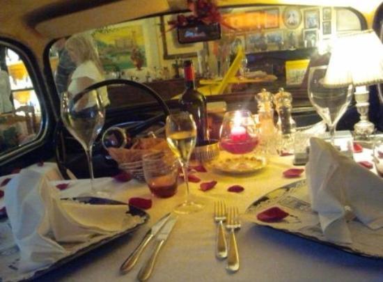 Hotel Rosati: tavolo speciale
