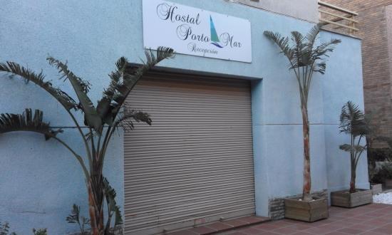 Porto Mar : Recepción del Hostal