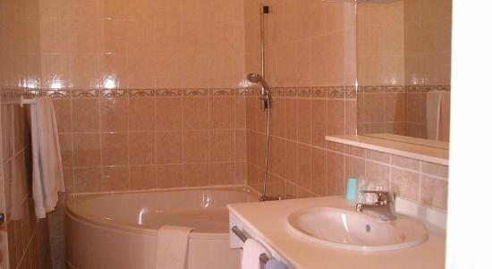 Salle de bain - Annexe du château de Quineville