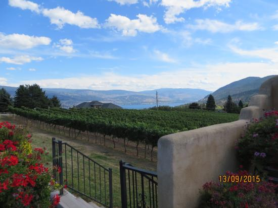 Summerland, Canada: View from Winery Terrace