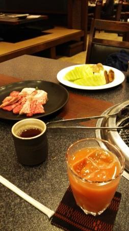 Grilled Beef Ryuka