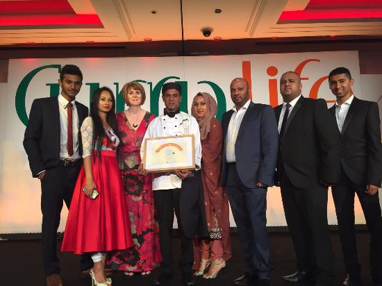 Hartlebury, UK: Best Curry chef 2015