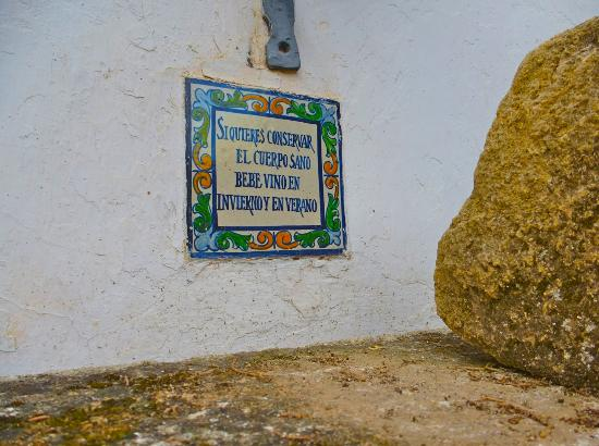 Hacienda La Vereda: patio