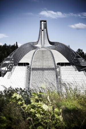 Holmenkollen Springtoren en Skimuseum