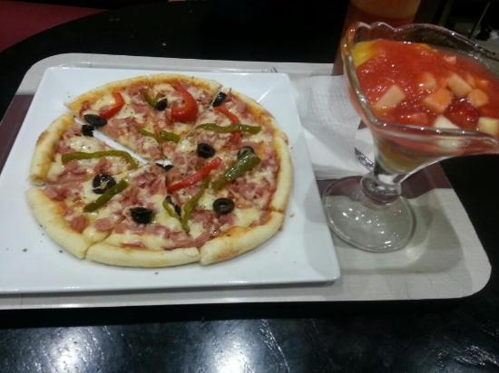 Brioche Dorée : pizza 30 dh
