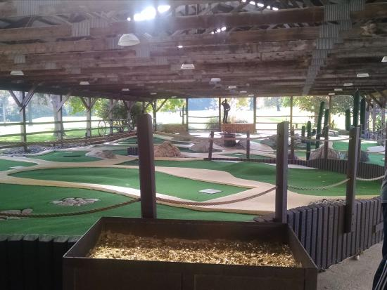 Circle M RV & Camping Resort: The mini golf course