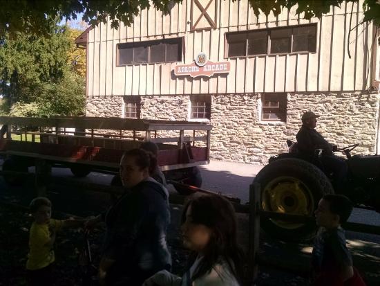 Circle M RV & Camping Resort: Arcade building & Store