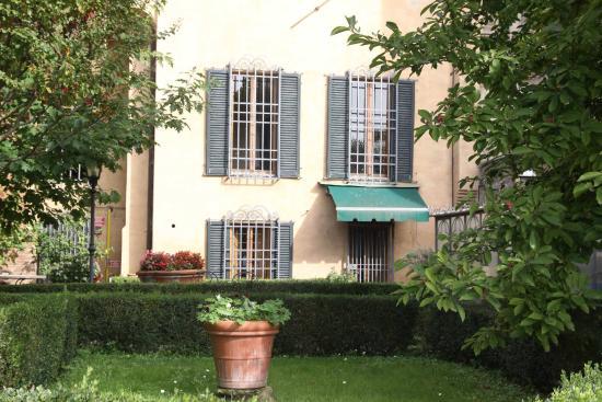 Palazzo Ravizza: The garden