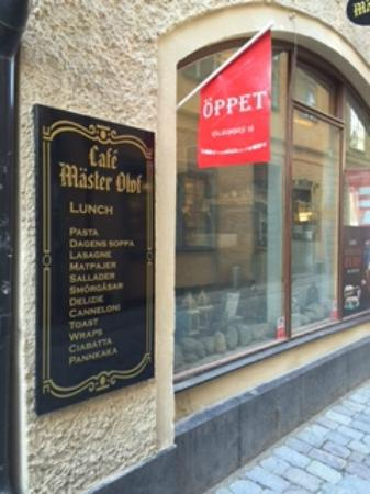 Ουψάλα, Σουηδία: Café Olof
