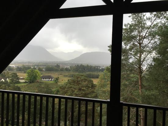 Treetops: View from Bedroom Balcony
