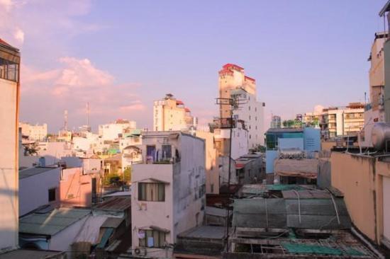 Dai Huy Hoang hotel: view