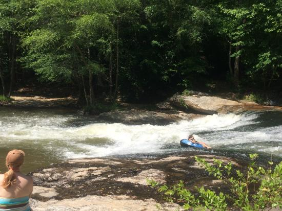 Cartecay River Experience: Rapids on the Cartecay