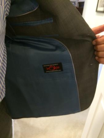 Instyle Fashion Bespoke Tailors : linig