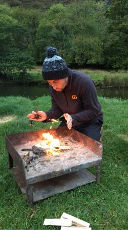 Nant Gwynant, UK: Llyn Gwynant Campsite