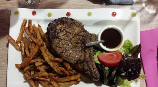 Saintonge Grill: Cuisson parfaite de la viande