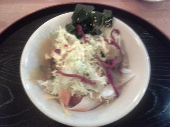 Ensalada de lechuga picture of restaurante tokyo to - Restaurante tokyo barcelona ...