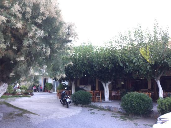 Rodakino, Grækenland: View of restaurant
