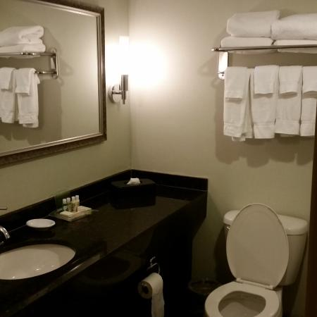 Holiday Inn Lansdale: Big bathroom plenty of towels