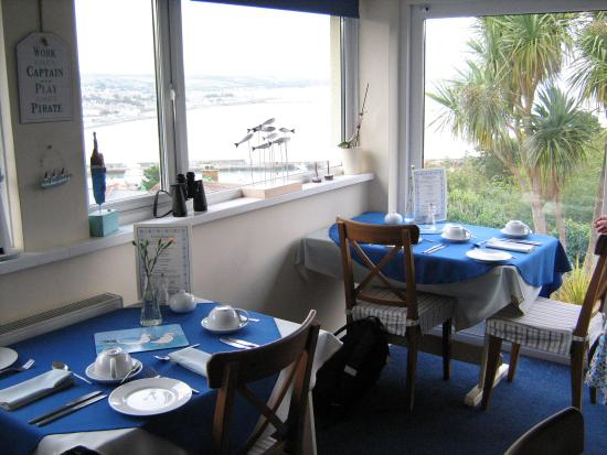 Panorama Guest House: Breakfast - what a view