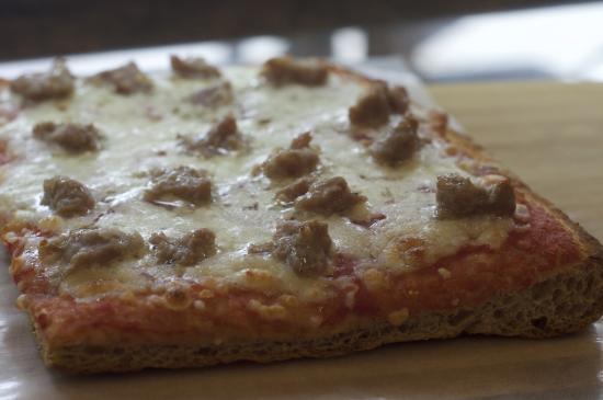 Pizzeria Coco's: trancio con farina integrale