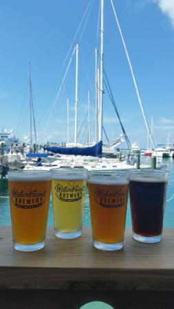 Photo of American Restaurant Waterfront Brewery at 201 William St, Key West, FL 33040, United States