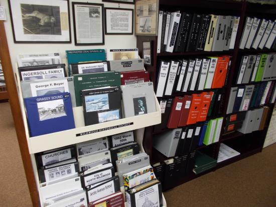George F. Boyer Historical Museum : many albums