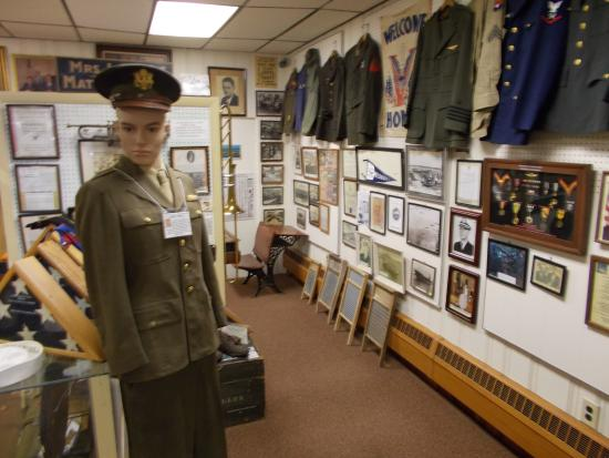 George F. Boyer Historical Museum : many artifacts