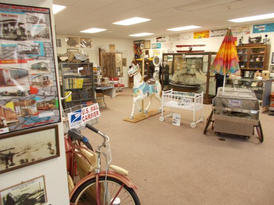 George F. Boyer Historical Museum: boardwalk items