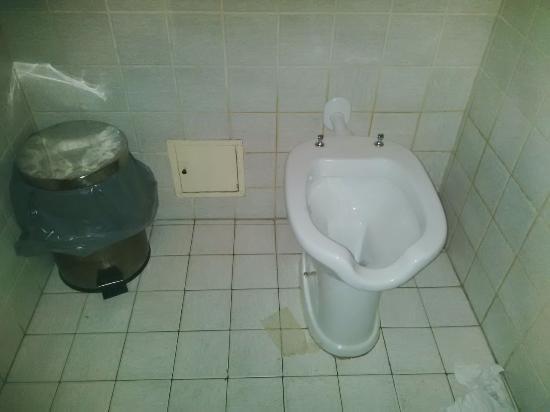 wc e bidoncino del bel bagno in centro a MILANO - Picture of Pandino ...