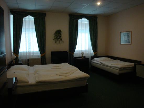 Hotel Omega Brno: номер, вид2