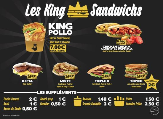 Go Fast Food Pau Carte