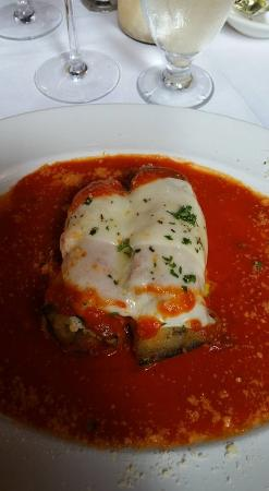 Grappa Ristorante: Eggplant Rollitini Appetizer