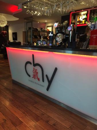 Chy Restaurant: A lovely welcoming bar
