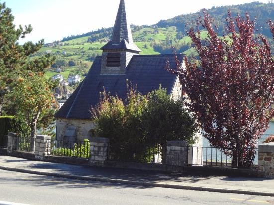 Kuessnacht am Rigi, Suiza: Chapelle de la reine Astrid / Astridkapelle